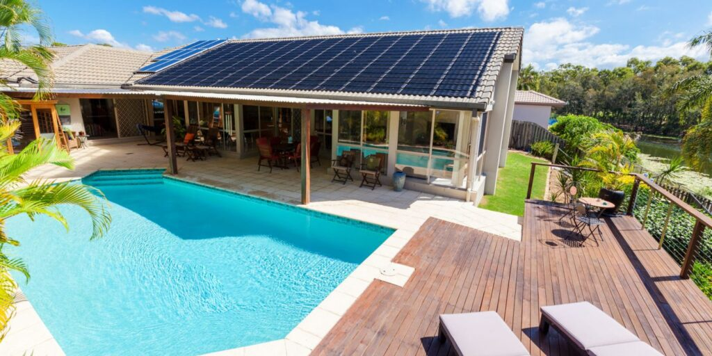 USING SOLAR POWER TO HEAT YOUR POOL